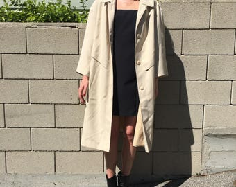 Beige TRENCH COAT 1960s