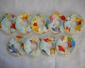 winnie the pooh balloons closet divider set