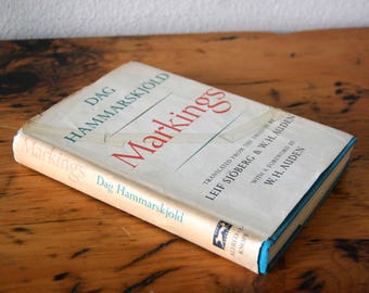 Vintage Dag Hammarskjold Markings Book Vintage Hardcover Book from The Eclectic Interior