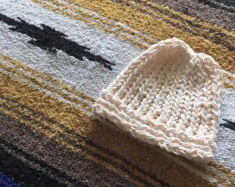 Newborn Cotton Knit Beanie