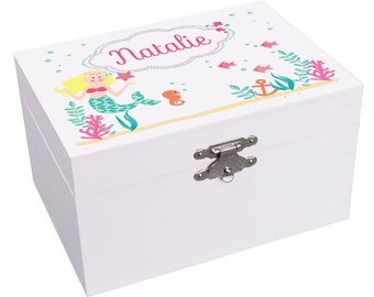 Ariel jewelry box Etsy
