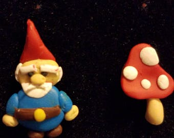 Hanging With My Gnomie Earring Set