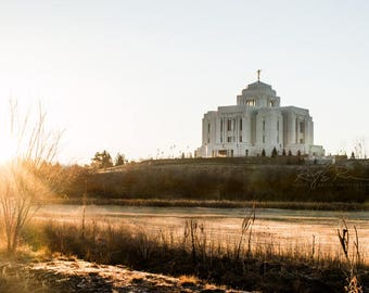 LDS Meridian Idaho Temple-10x20