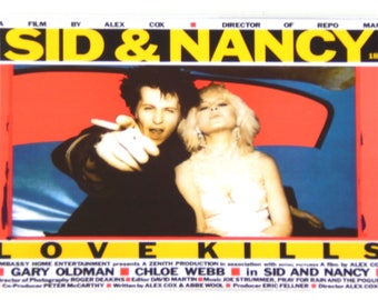 Sid and Nancy Movie Poster Fridge Magnet