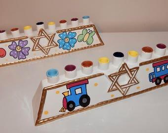 Personalized  Menorah for Kids