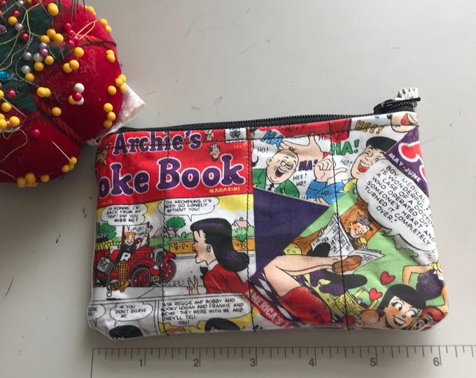 Zippered Pouch - Archie Andrews coin purse/change purse