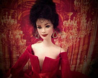 Sold, Outlander Inspired Claire Barbie Doll-Contact Me For Your Custom Repaint Doll!
