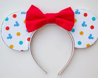 Mickey Ears / Minnie Mouse Ears / Minnie Ears / Disney Ears / Minnie Mouse / Mouse Ears / Mickey Mouse Ears / Minnie Ears Headband / Gift