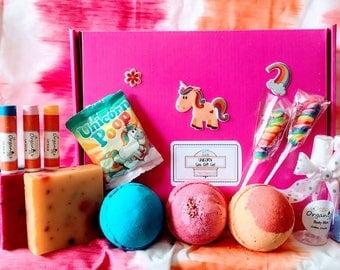 Unicorn Spa Party Gift Set, Unicorn Spa Set, Unicorn Party Set, Unicorn Gift Set, Unicorn Bath Set, Unicorn Spa Gift, Unicorn Gift for Her