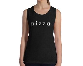 Pizza Muscle Workout Tank