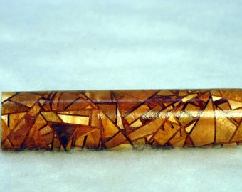 Random Segmented 3 Maples with Mahogany and Sapele Pen Blank 3""