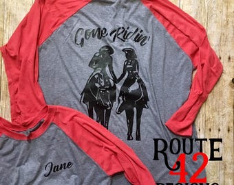 Trail Riding   Shirt   Layering   Raglan   Couple