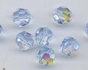 Twelve rare vintage discontinued  Swarovski crystals - Art. 5000 - 10 mm - AB