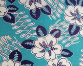 Vintage fabric, Feedsack, Quilting Cotton, 1940's Fabric, NOT Reproduction, Cotton Fabric, UK Seller,
