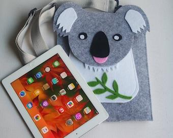 Koala iPad Pro/Tablet/Small pc/Keyboard 30*25 cm felt case