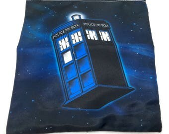 Doctor Who TARDIS drawstring large pouch small bag