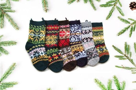 knit Christmas stocking pattern Norwegian knitting pattern
