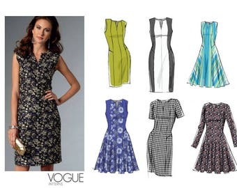 Vogue Easy Options V9050 Sewing Pattern E5 14-16-18-20-22
