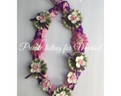 RESERVED GRADUATION LEI