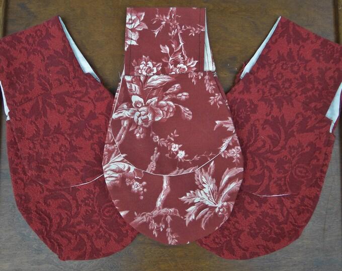 Renaissance Belt Bag, Medieval Purse, Womens Festival Bag - ON SALE -