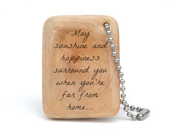 Gift for Graduation, Personalized Keychain for Son or Daughter