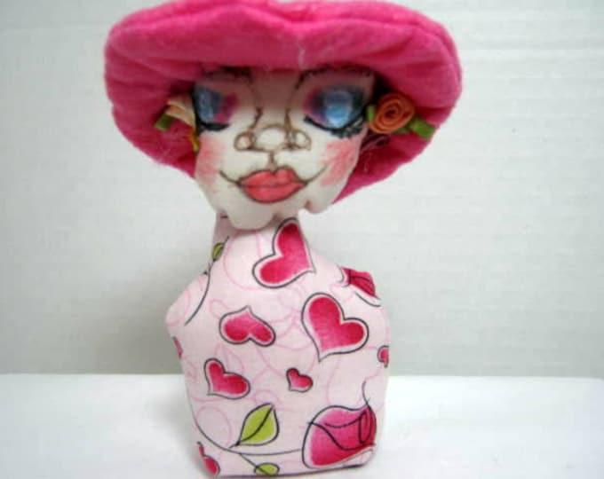 Pink Hat Pincushion
