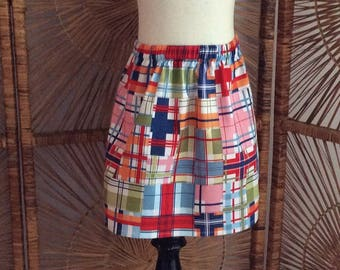 GIRLS SKIRT....in madras....or any fabric in our shop!