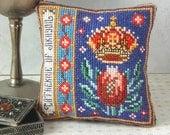 Catherine of Aragon Pincushion Cross Stitch Kit
