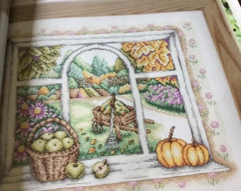 Autumn Harvest - Cross Stitch Pattern Only