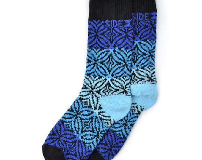 Sidekick Socks NEW! Rosemont Sapphire