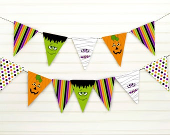 Halloween Banner Spooky Printable Banner Halloween Party