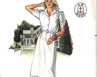 ON SALE Butterick 6585 Misses J.G. Hook Dress Pattern, Size 16, Uncut