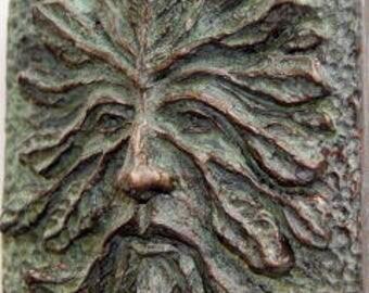 Greenman, Green Man, Greenman Art Tile U0026 Sculpture, Greenman Plaque Or Tile,