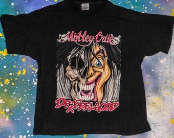 MOTLEY CRUE Metal Rock T-Shirt Size XL
