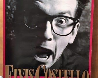 Elvis Costello poster.