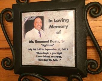 Personalized  Grave Marker Memorials Marker, Grave-site  Rememberance Decoration