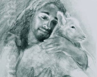 Jesus and the Lamb