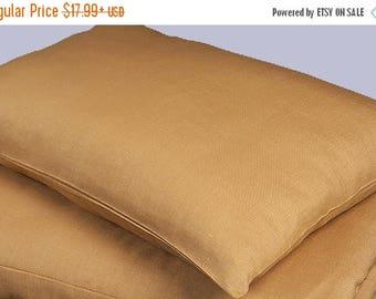 15%SALE Brown melange linen pillow cover, pilllow case, cushion cover linen bedding, natural eco friendly bedding