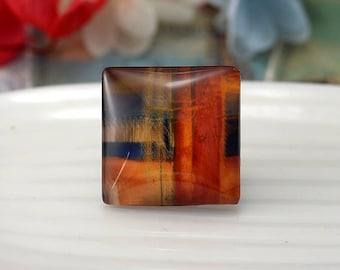 Square Flat Back Handmade Photo Glass Cabochon - Image Glass Cabochons(10/12/15/20/25/30/40/53mm)
