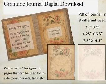 Vintage-Inspired Gratitude Journal