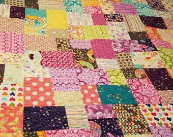 Youth / Throw Size Quilt - 50 x 58