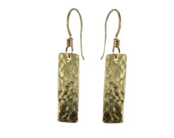 Hand Hammered Texture #4 Earrings
