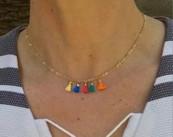 Tassel Necklaces, choker necklace, boho jewelry, tassel jewelry