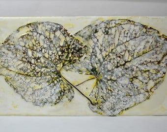 "Original Encaustic Painting ""Joined Together"""