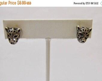 ON SALE Retro Leopard Earrings Item K # 2196
