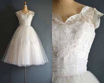 Lisa / 50s wedding dress / bridal gown