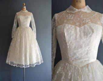 Ellis / 50s wedding dress / bridal gown