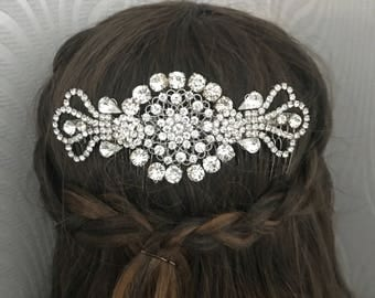 Vintage style hair comb - 1920s Dress - Hair accessory - bridal headpiece - Vintage Great Gatsby