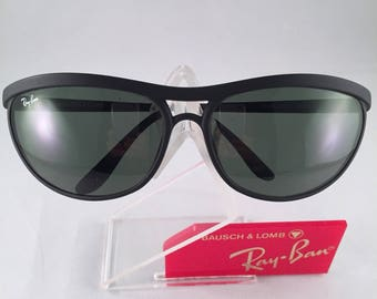 Vintage Ray Ban Bausch and Lomb Matte Black Predator Sports PS3