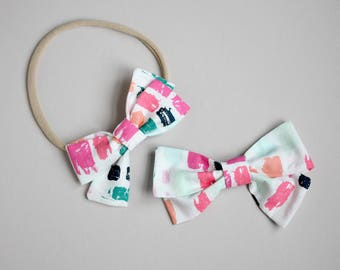 Dashes Piper Bow headband or clip